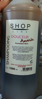 Shampooing douceur amande - Product