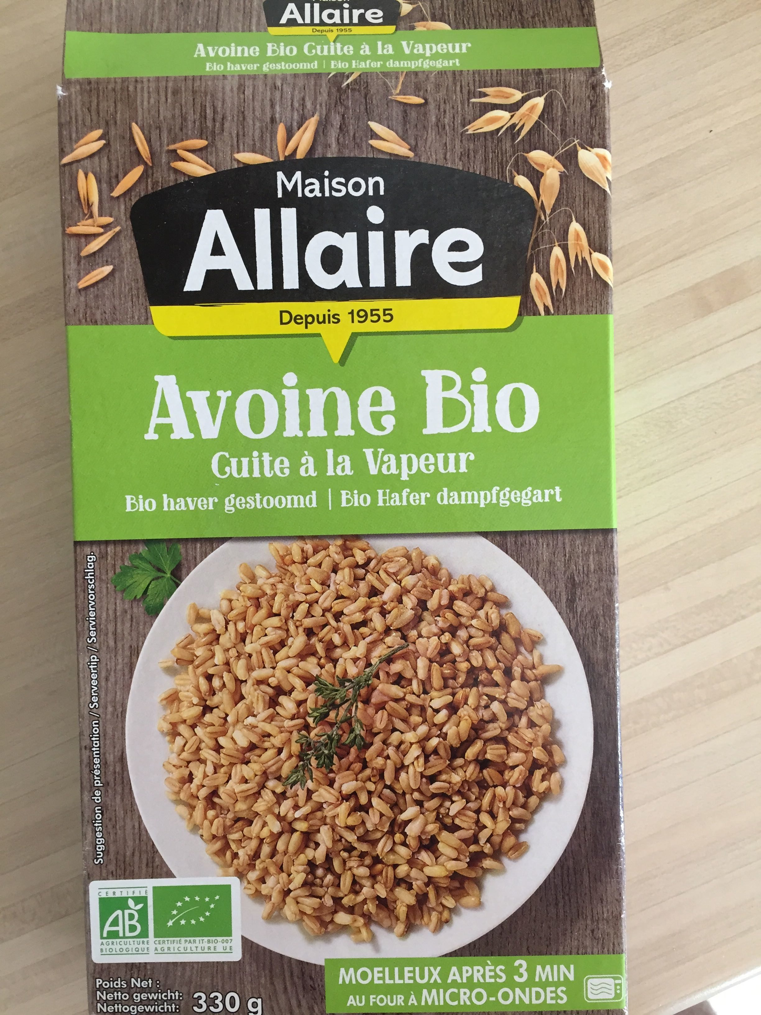Avoine Bio - Product