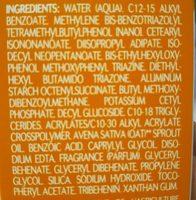 Aderma Protect SPF50+ Fluide Très Haute Protection 40ML - Ingrédients - fr