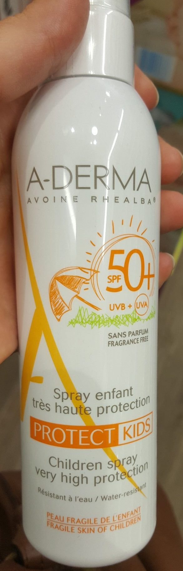 Spray Protect Kids SPF50+ - Produit - fr