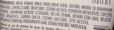 Cold Cream  - Crème mains concentrée - Ингредиенты - fr