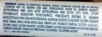 Soin lèvres sensibles - Ingredients