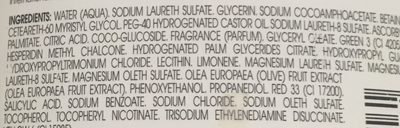 Klorane Shampooing à L'extrait Essentiel D'olivier - Ingredients - fr