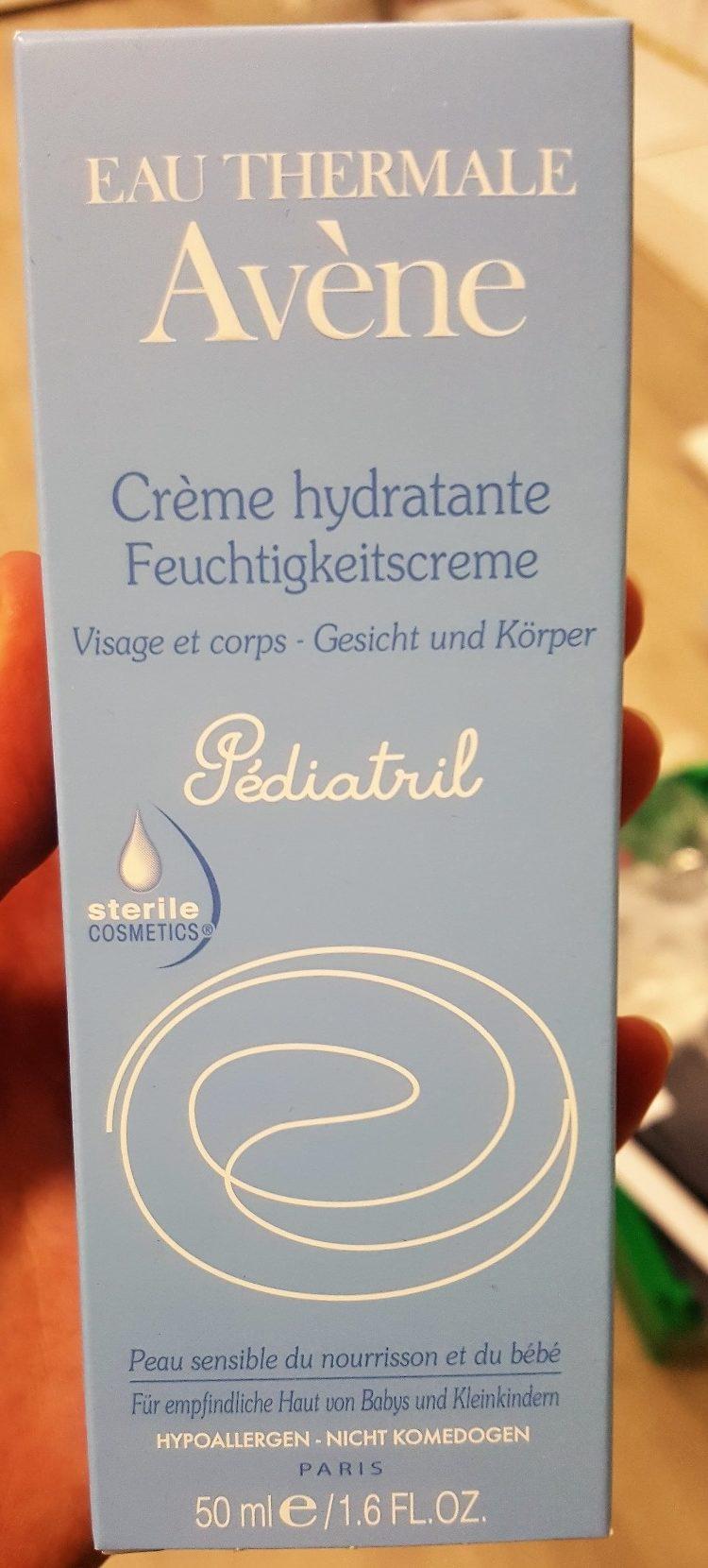 Crème Hydratante Avène Pédiatril Sterile Cosmetics - Product
