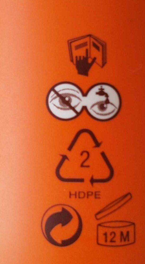 Lait SPF 50+ - Instruction de recyclage et/ou information d'emballage - fr