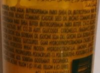 Karité Nutri - Ingredients