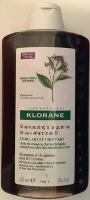 Shampooing à la quinine et aux vitamines B - 2