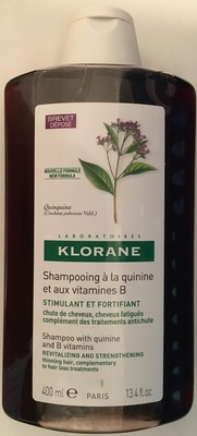 Shampooing à la quinine et aux vitamines B - Product