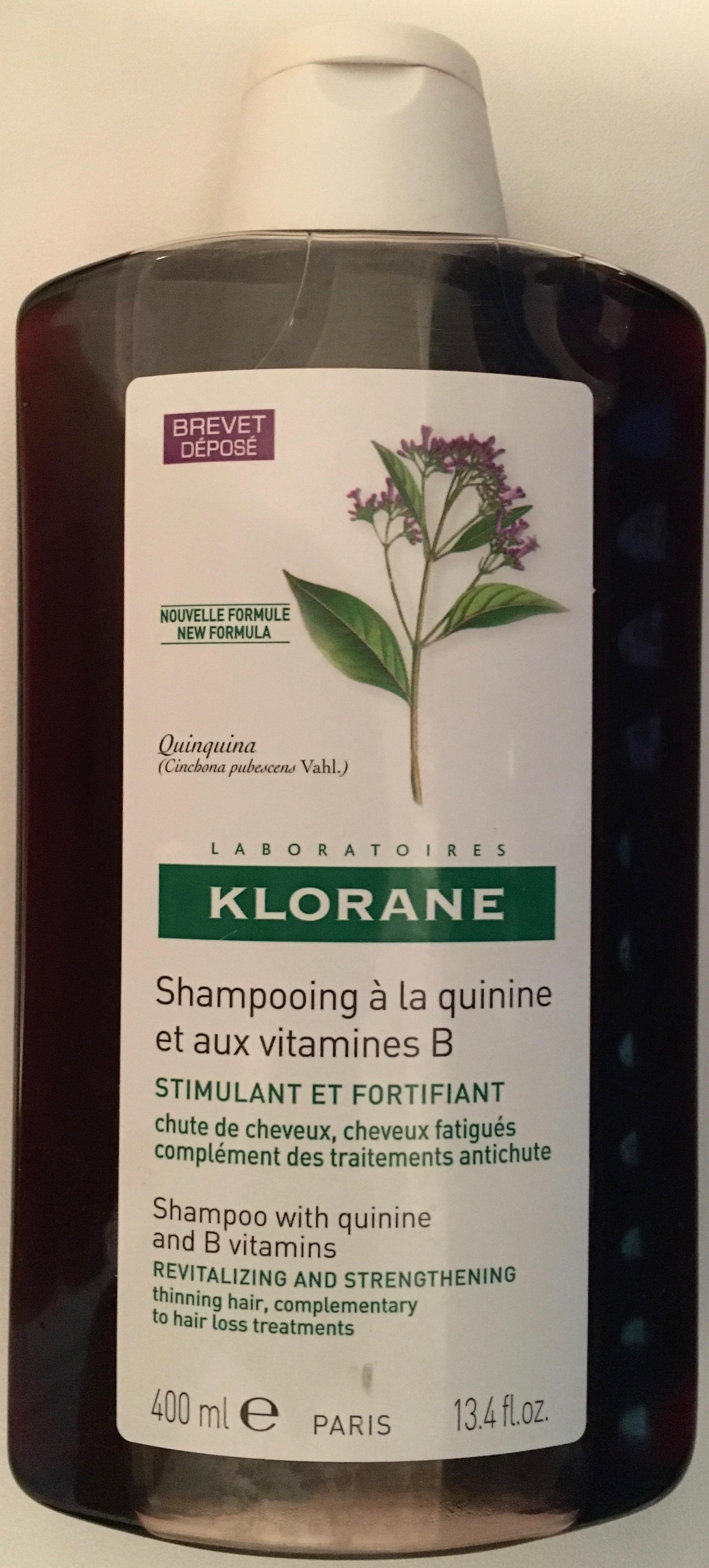 Shampooing à la quinine et aux vitamines B - Produit - fr
