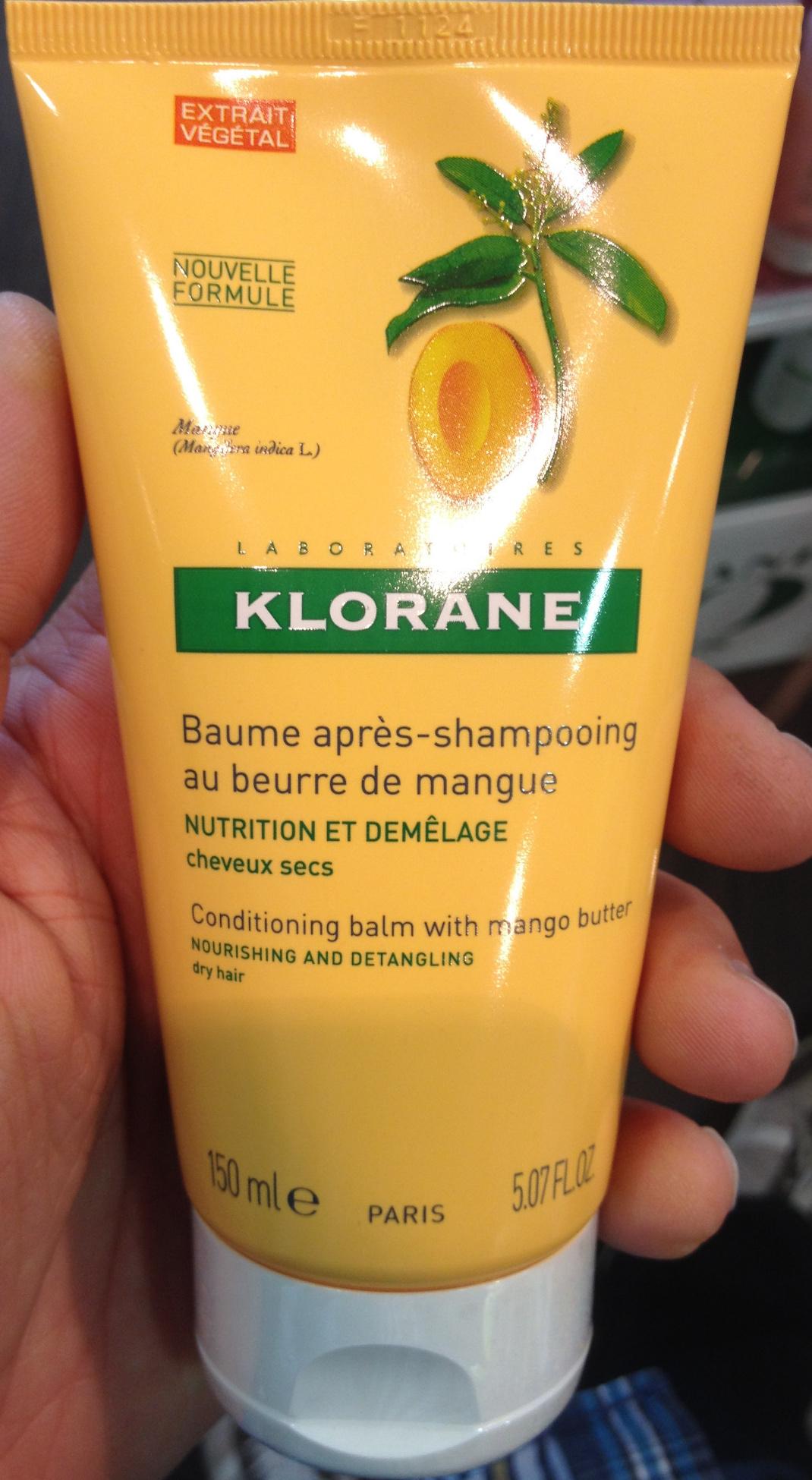Baume après-shampooing au beurre de mangue - Produit - fr