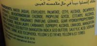 Baume après-shampooing au beurre de mangue - Ingrédients - fr