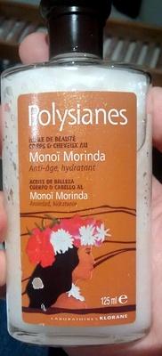 Polysianes Huile de beauté Monoi morinda - Produit
