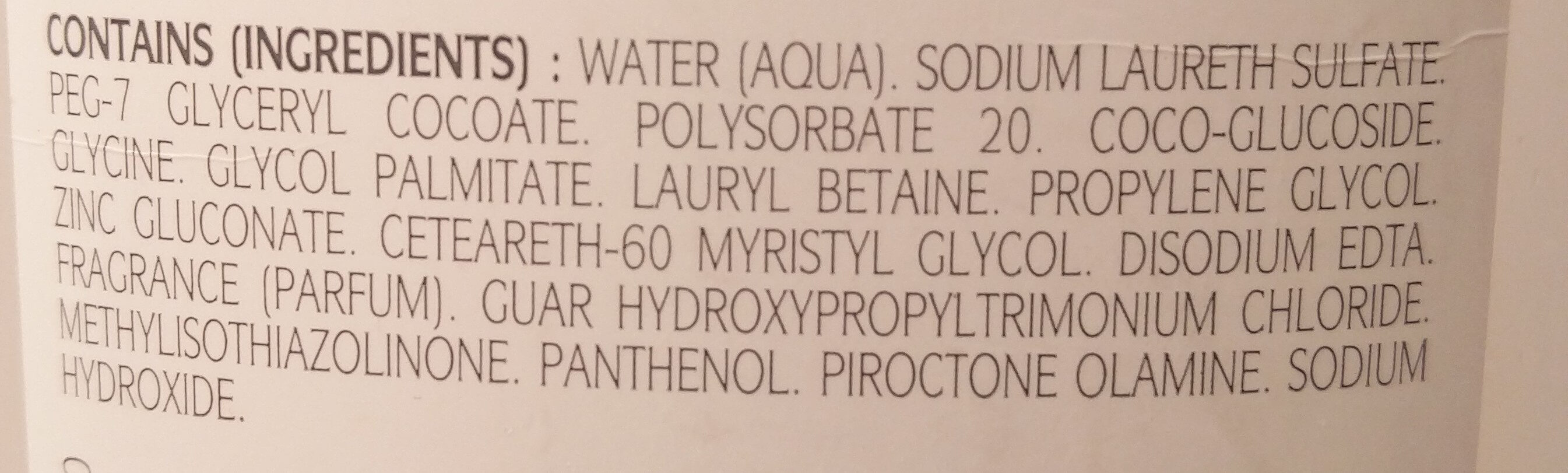 Elution - shampooing traitant dermo-protecteur - Ingredients - fr