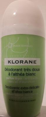 déodorant très doux à l'althéa blanc - Product - fr