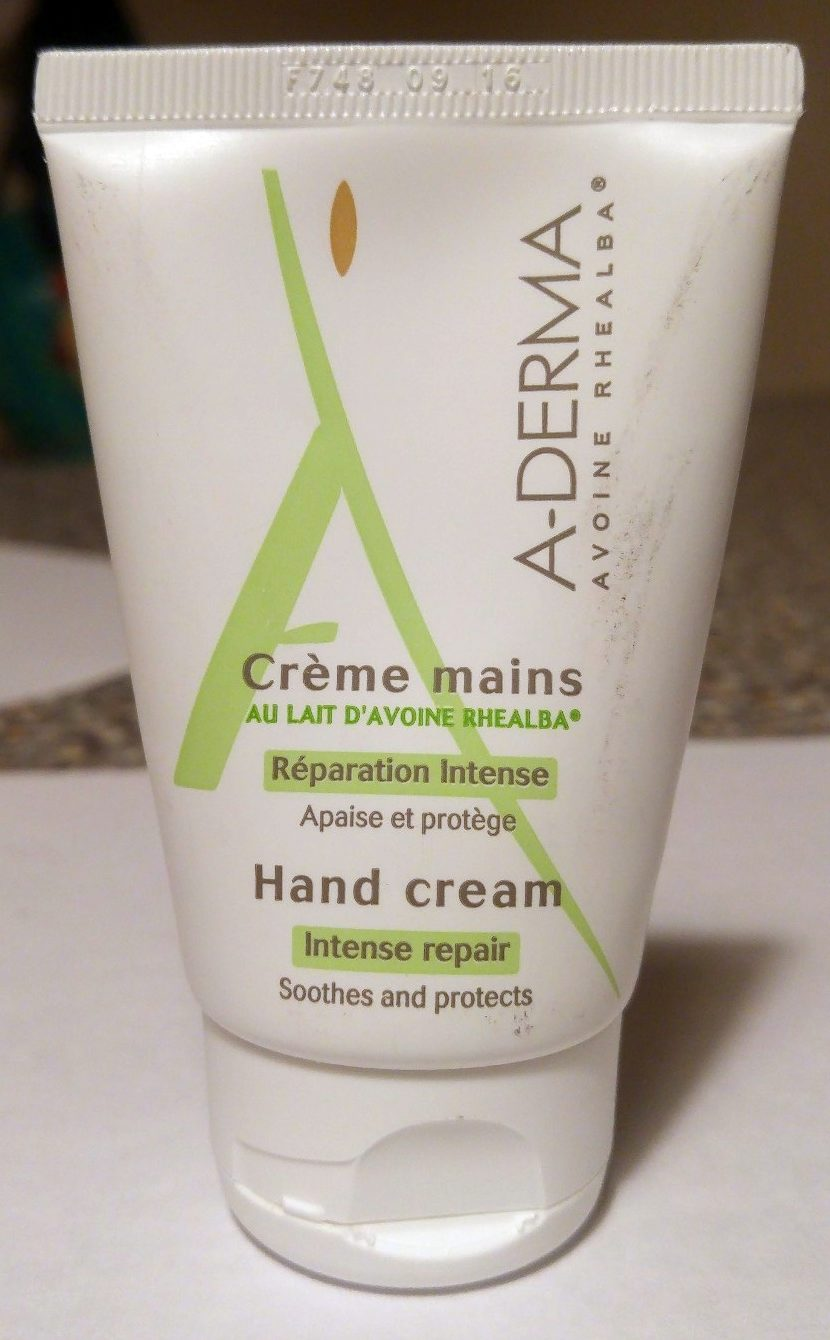 A-Derma Crème mains au Lait d'Avoine Rhealba - Product