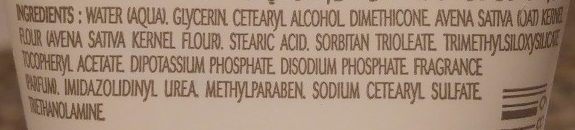 A-Derma Crème mains au Lait d'Avoine Rhealba - Ingredients