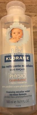 Eau nettoyante micellaire sans rinçage - Produit
