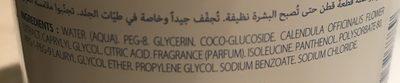 Klorane Bebe Cleansing Micellar Water No Rinse Formula 750ML (cleanser) - Ingredients - fr