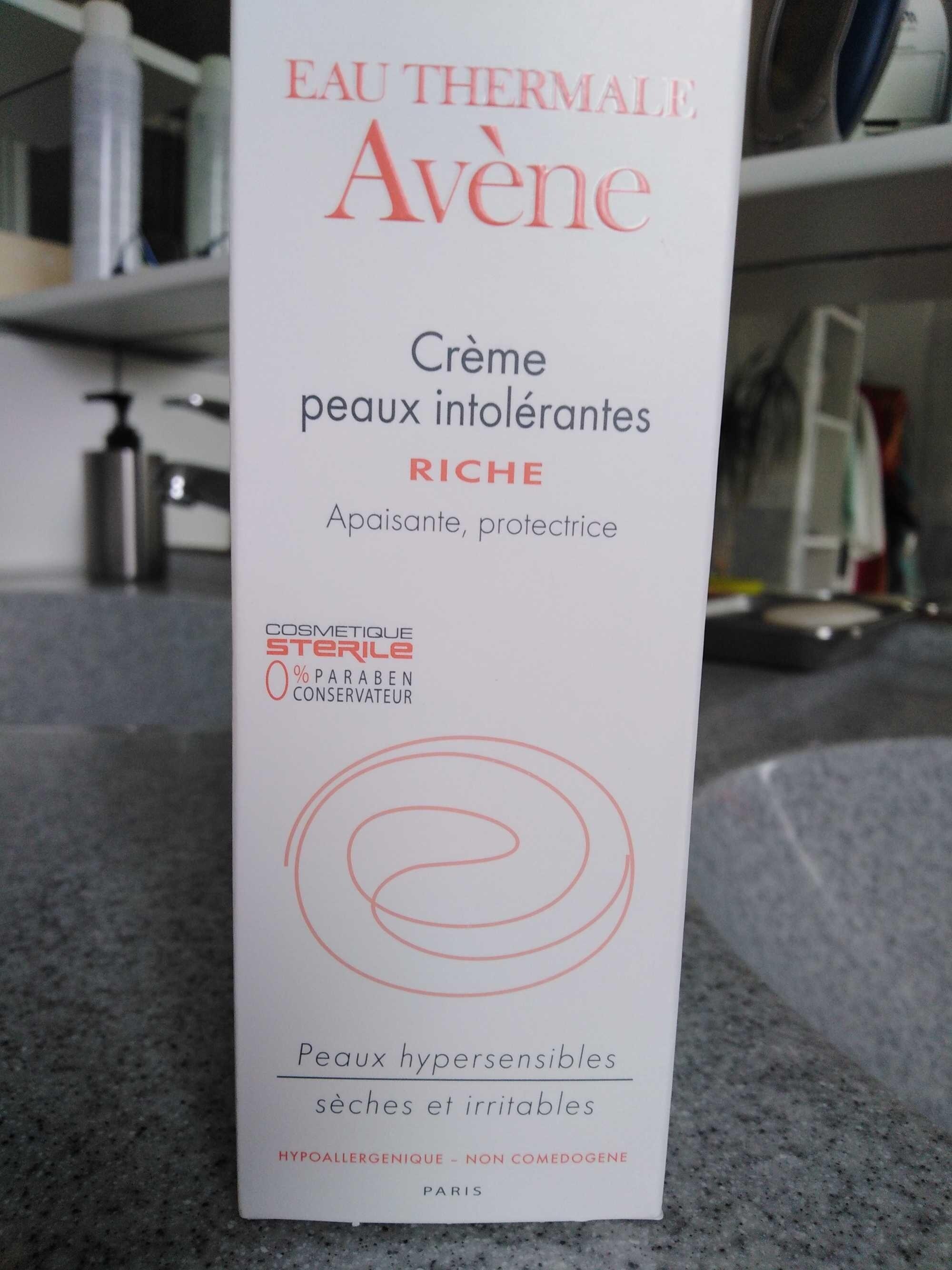 Crème peau intolérante riche - Produit - fr
