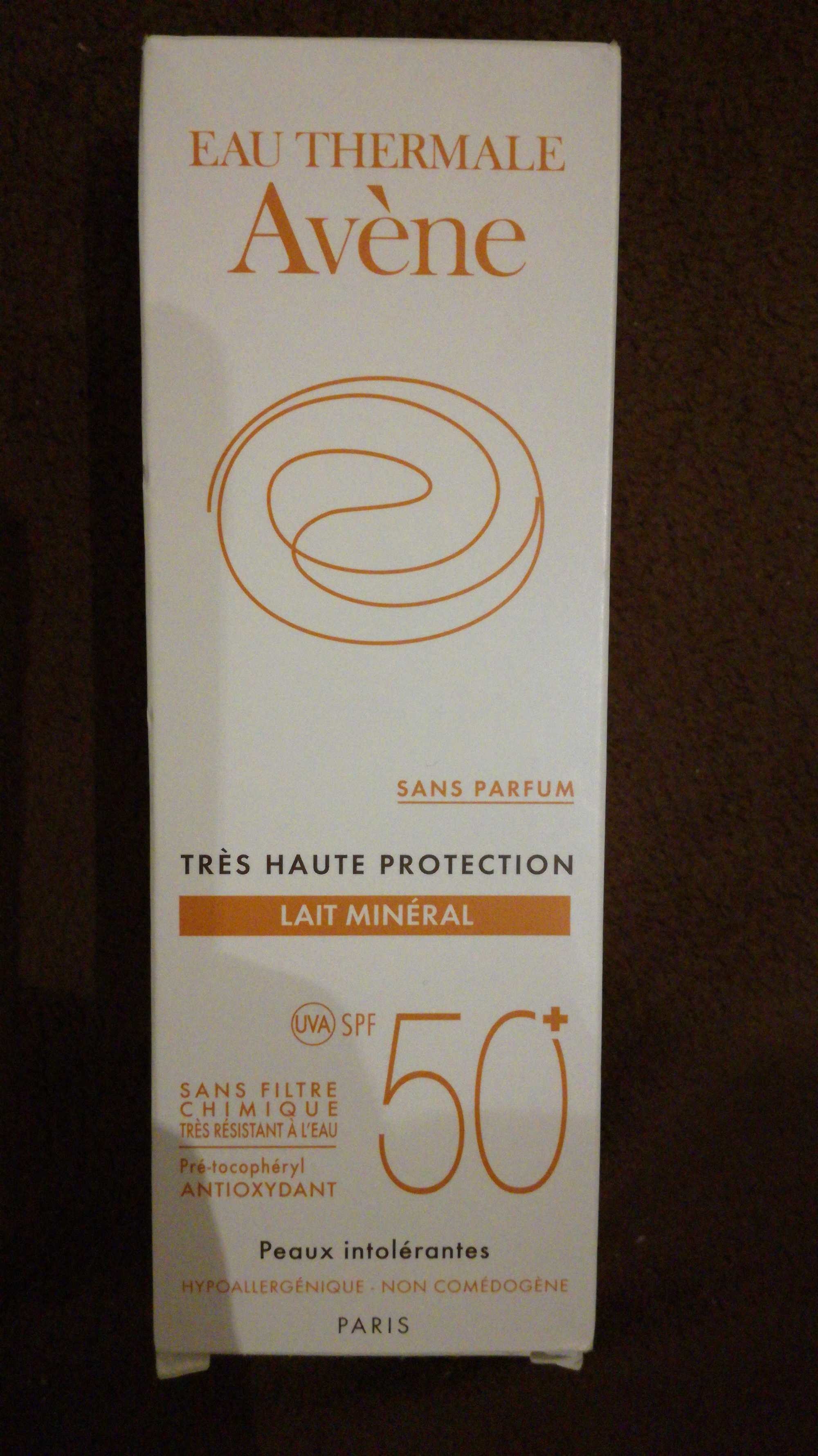 Lait mineral tres haute protection 50 - Product