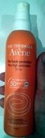 Très Haute Protection Spray 50+ SPF - Produit