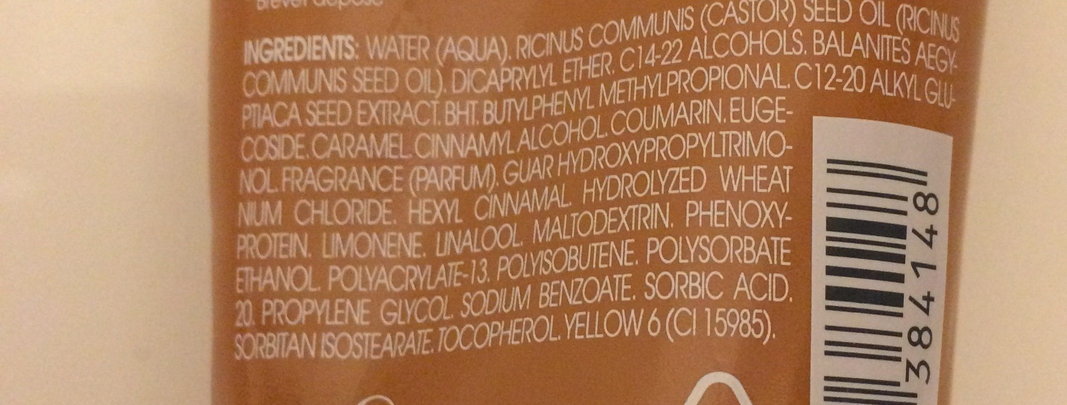 Klorane - Crème De Jour Capillaire Nutritive Et Réparatrice Au Dattier Du Désert - Ingrédients