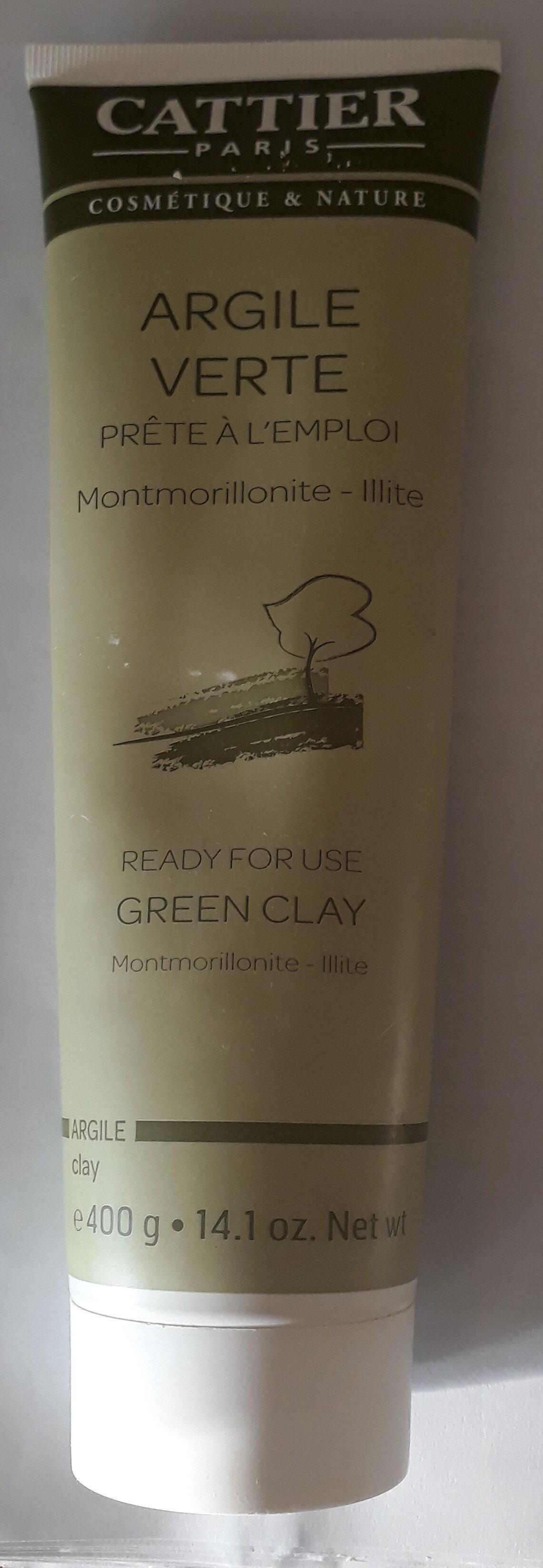 Argile verte Prête à l'emploi Montmorillonite - Illite - Product - fr