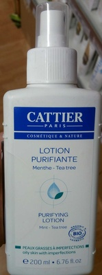 Lotion Purifiante Menthe - Tea Tree - Product