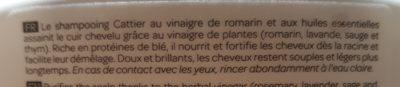 Shampooing cheveux gras, Vinaigre de romarin - 1