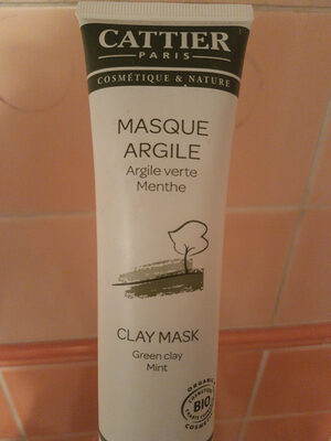 masque argile - Product