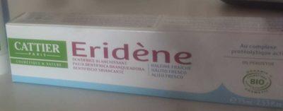Dentifrice Eridene - Produit