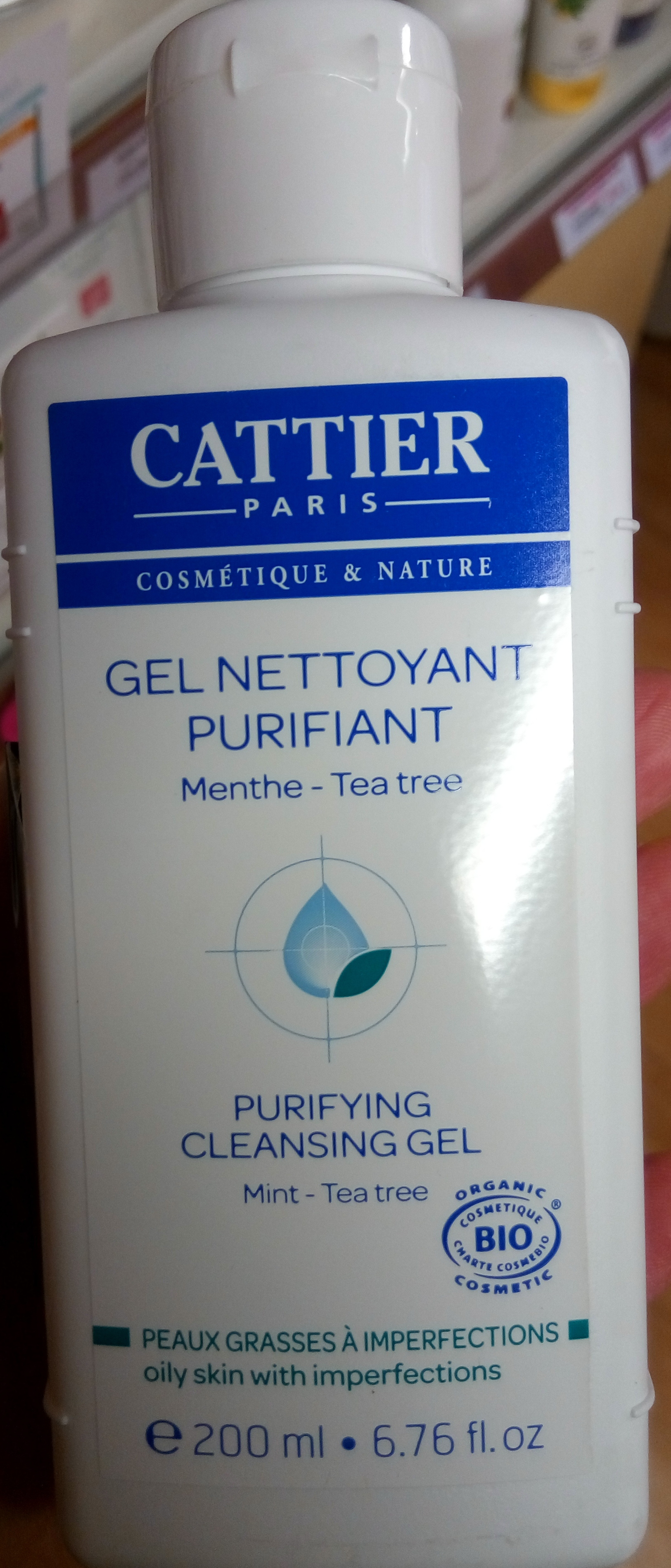 Gel nettoyant purifiant Menthe Tea tree - Produit