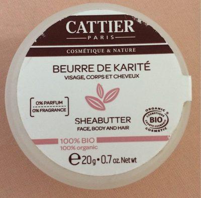 Mini Beurre De Karité Bio - Cattier - Produit - fr