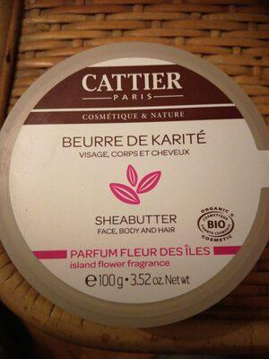 Beurre de karité parfum fleur des îles - Product - en