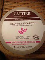 Beurre de karité parfum fleur des îles - Produit - fr