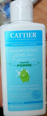 Shampooing démêlant parfum pomme Kids bio - Produit - fr
