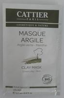 Masque Argile - Argile verte Menthe - Produit