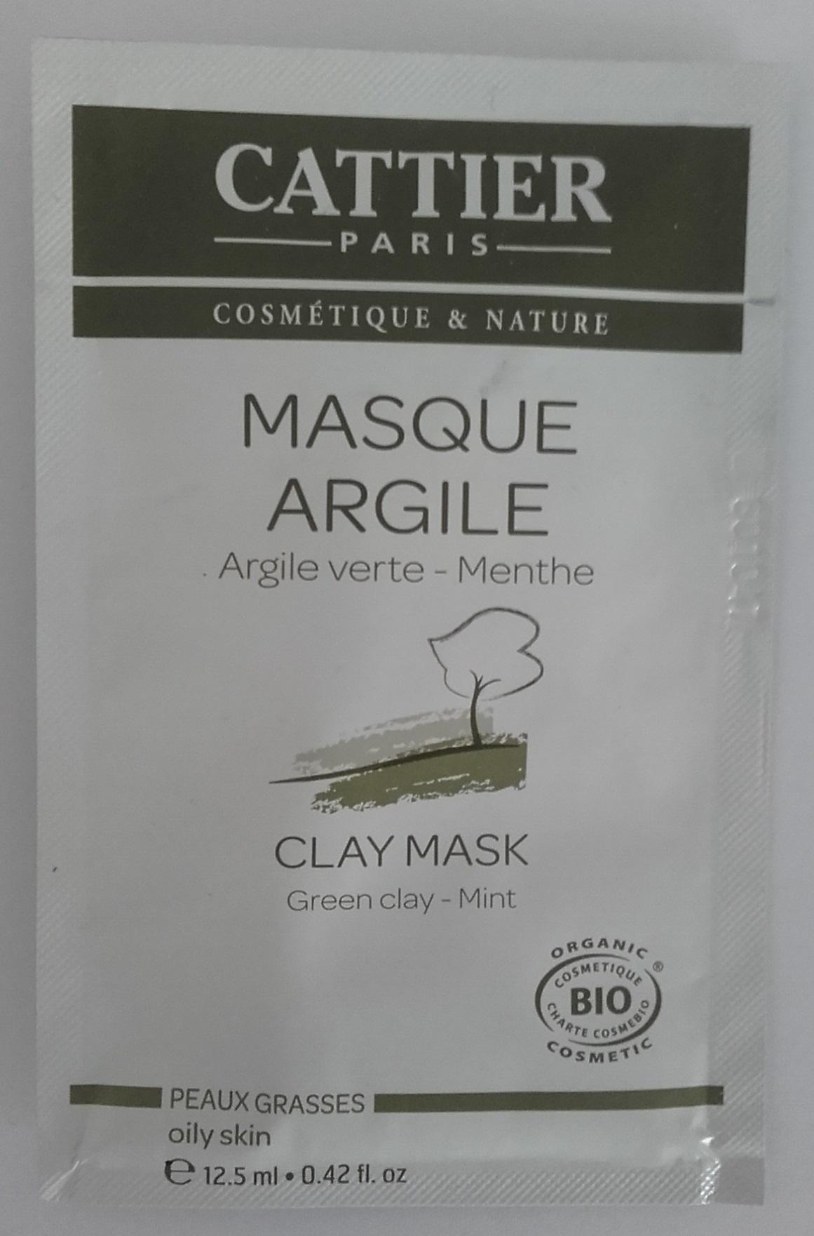 Masque Argile - Argile verte Menthe - Produit - fr