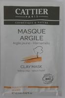 Masque Argile - Argile jaune Hamamélis - Product - fr