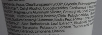 Crème mains Argile blanche Fleur d'impératoire - Ingrédients