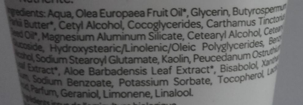Crème mains Argile blanche Fleur d'impératoire - Ingredients