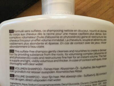 Shampoing volume - Produit - fr