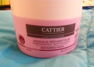 Masque réparateur moelle de bambou - beurre de cupuaçu Cattier - Product - en