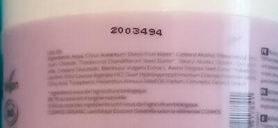Masque réparateur moelle de bambou - beurre de cupuaçu Cattier - Ingrédients - fr
