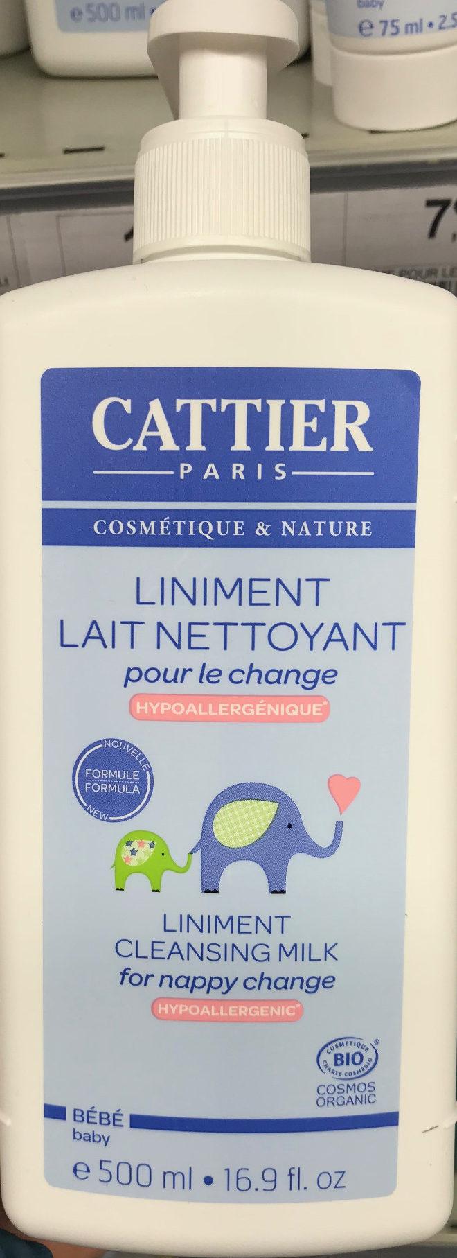 Liniment lait nettoyant - Product - fr