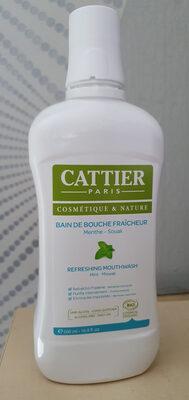 Cattier Bain de bouche fraîcheur - Product - fr