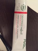 Dentifrice Enfant Arôme Fraise Organic Bio Cosmetic - Product