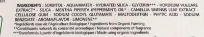 Dentifrice Haleine Pure - 75 ML - Melvita - Ingredients - fr