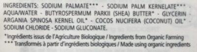 Savon extra-riche - Ingredients - fr