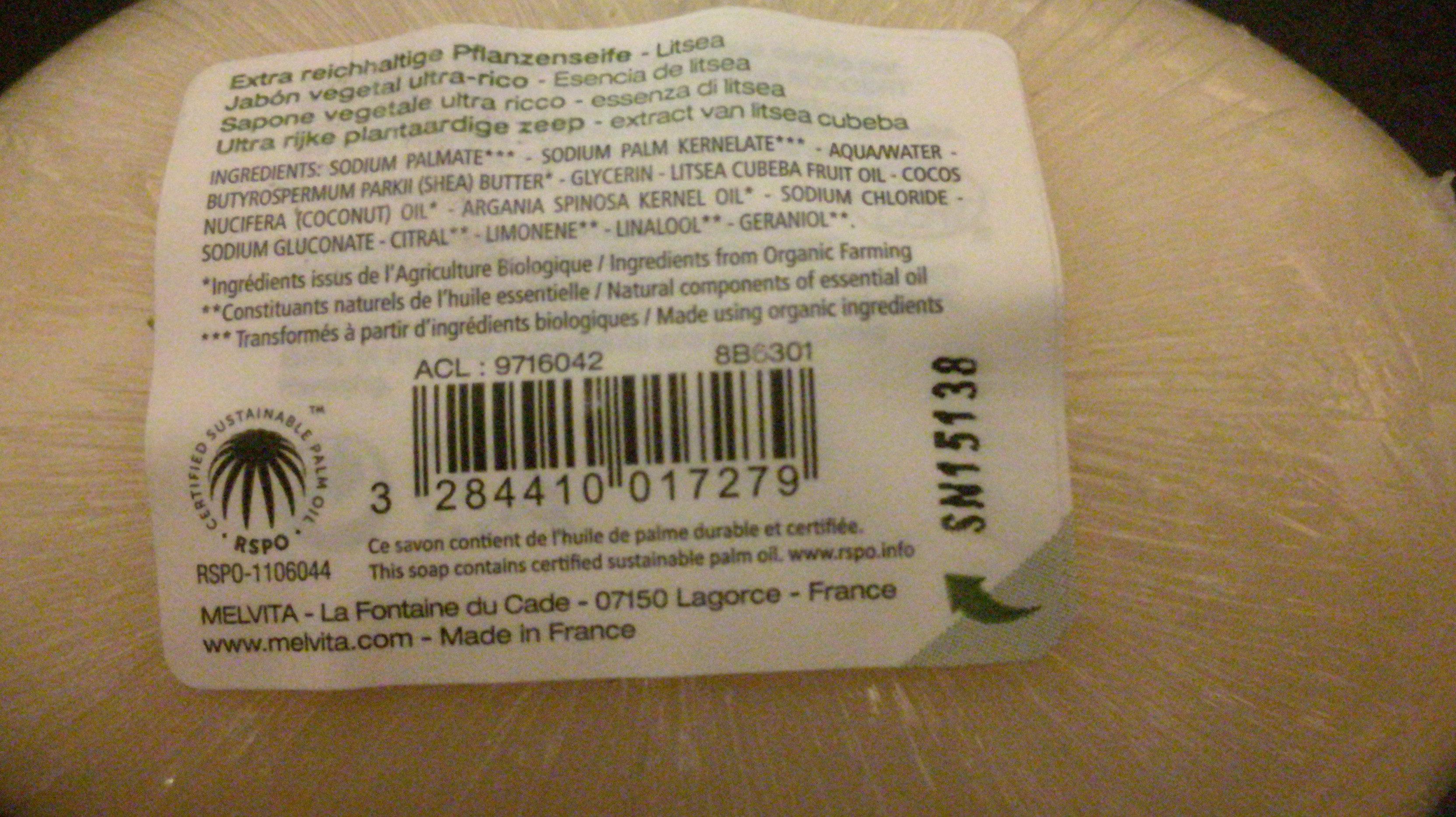 savon extra riche - Product - fr